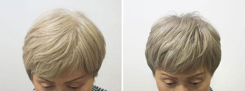 白髪90%の低刺激グレイヘアカバー
