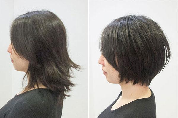くせ毛をカットだけで治る髪型に