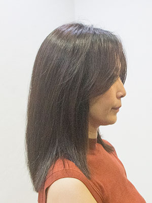 太い髪多い髪の縮毛矯正