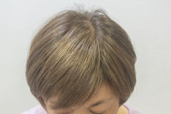 白髪6割のクレイヘアカラー