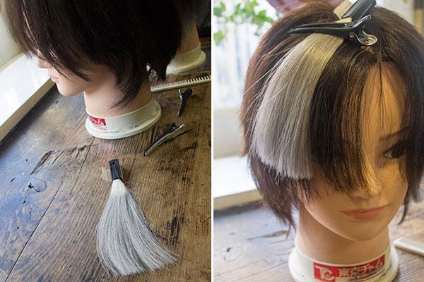 白髪の割合と淡い白髪染めの関係