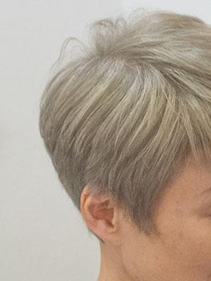淡い白髪染めでオシャレ