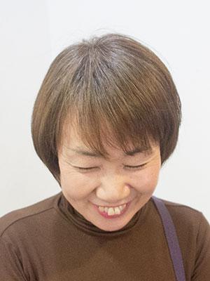 グレイヘアをやめて明るい白髪染め