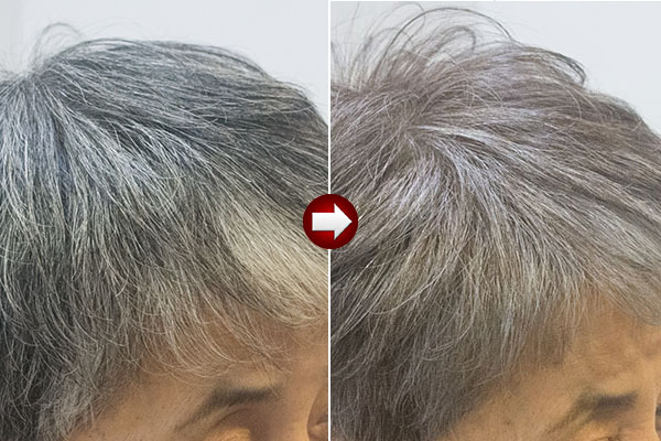 グレイヘア-をやめて明るい白髪染めに移行