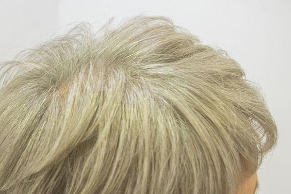 グレイヘアをオシャレに染める白髪染め