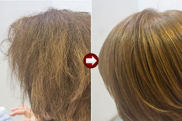 酸熱トリートメントでどこまで艶髪にできる?