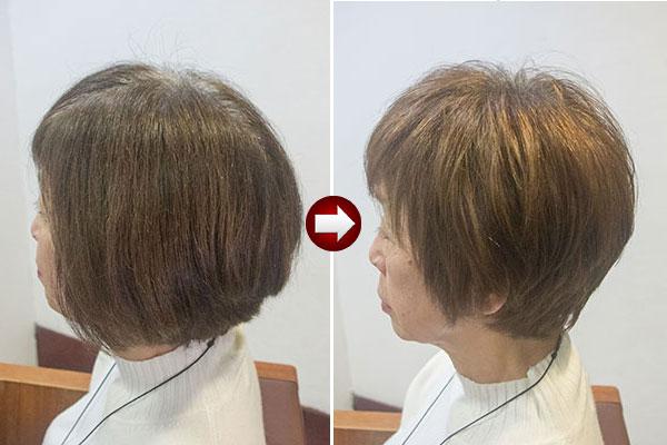 グレイヘアに移行しやすい髪型とは