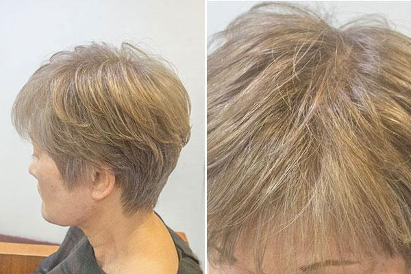 グレイヘアに移行するための白髪染め5_3