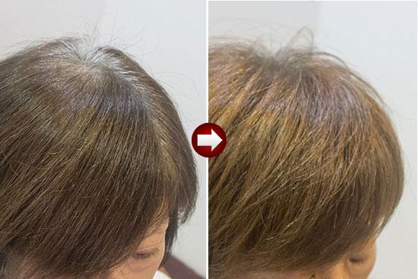 グレイヘアの移行に有利な髪型