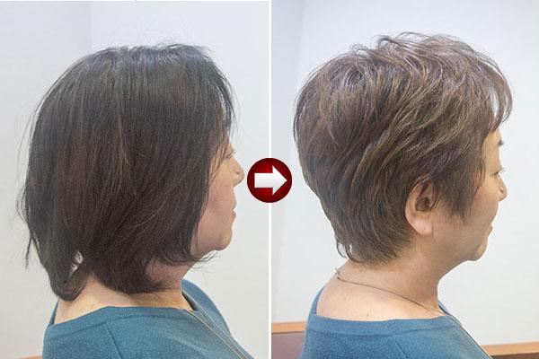 髪の悩みを軽減するヘアデザイン
