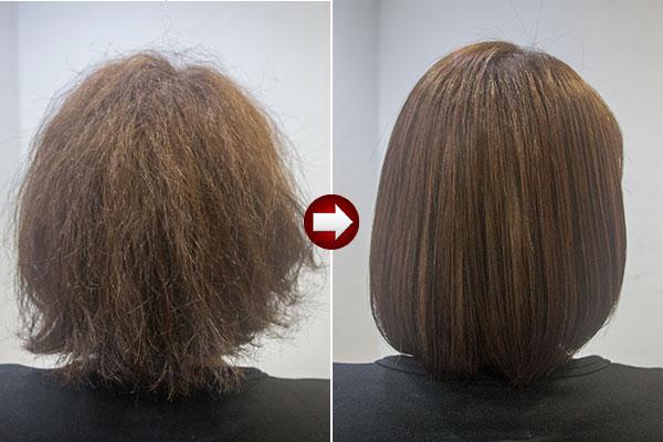 アフターコロナはくせ毛に髪質改善 酸熱トリートメント