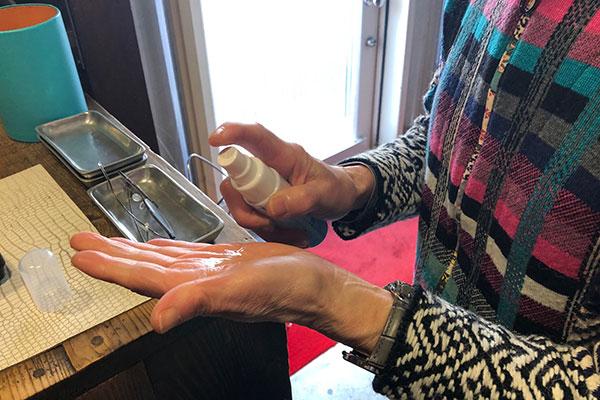美容室yippeeのコロナウィルス対策