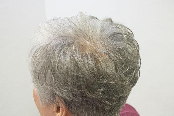 グレイヘア白髪8割