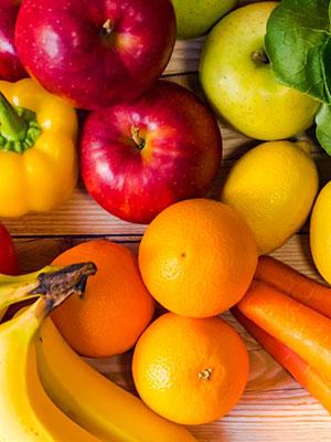 酵素を含む野菜や果物