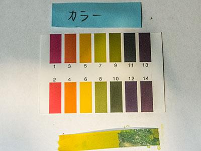 カラー剤のPH